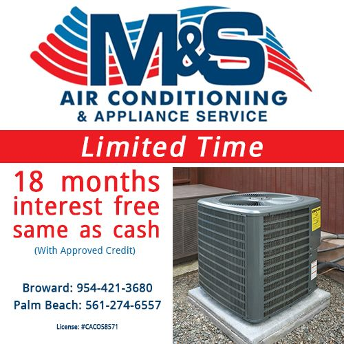 Palm Beach Appliance Services interest free