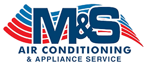 M&S Air Conditioning & Appliance Services Logo