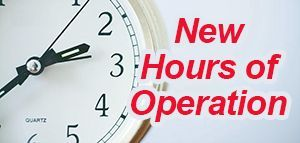 web new hours